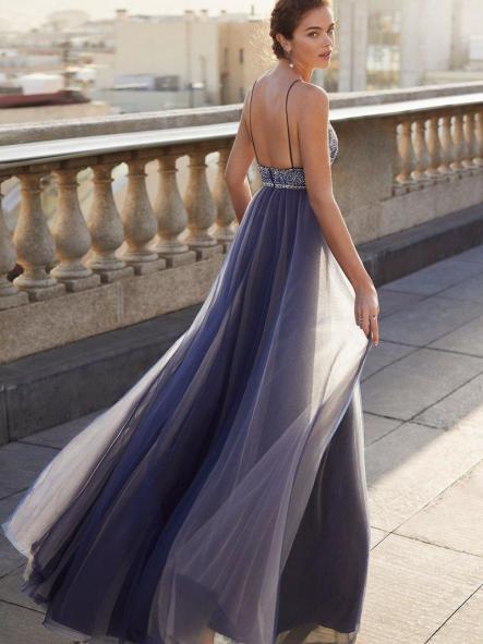 Vestido de fiesta largo .Colección Luxe. [1]