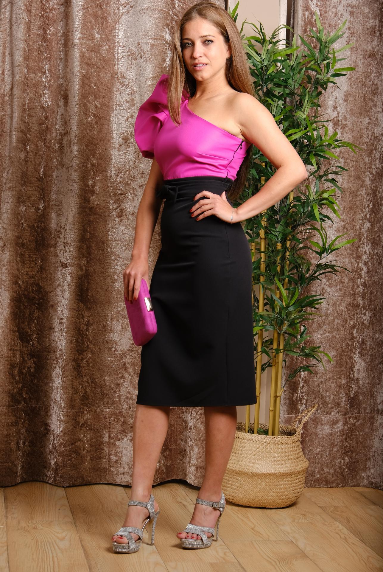 Vestido de fiesta corto. Modelo Eliana.