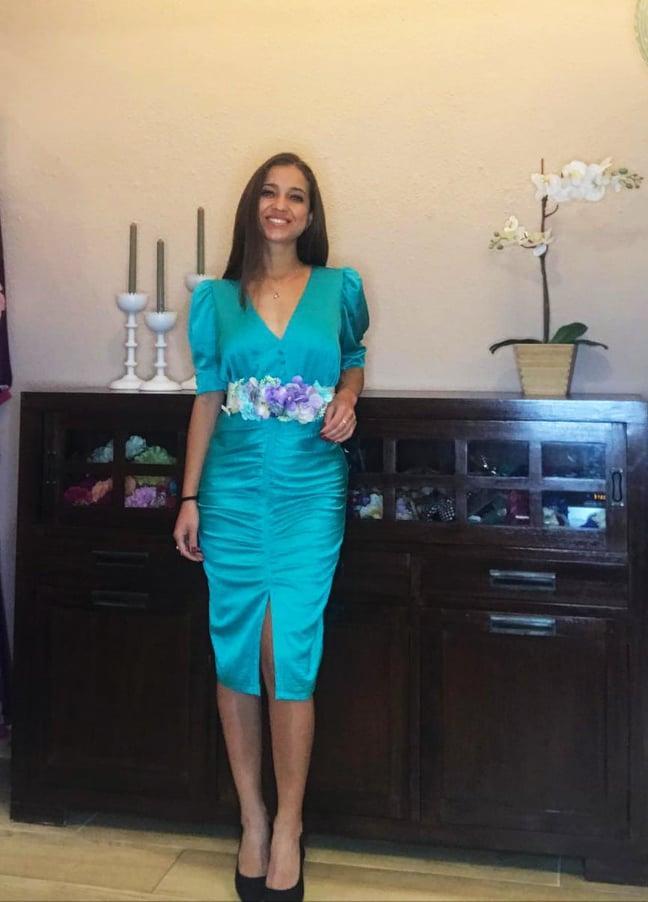 Vestido de fiesta corto. Modelo  Vanessa