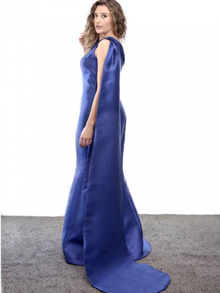 Vestido de fiesta largo. Modelo Costura. [1]
