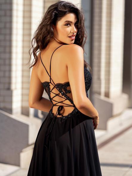 Vestido de fiesta largo. Modelo Cecilia. [1]