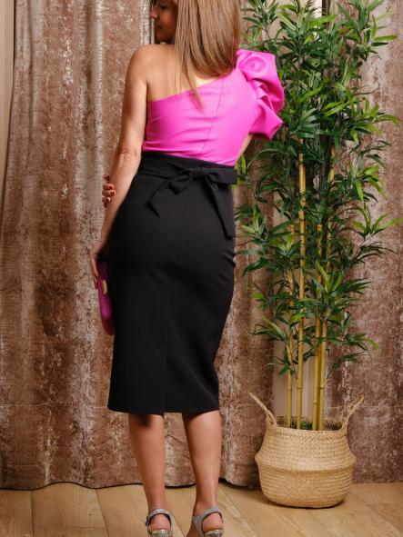 Vestido de fiesta corto. Modelo Eliana. [1]