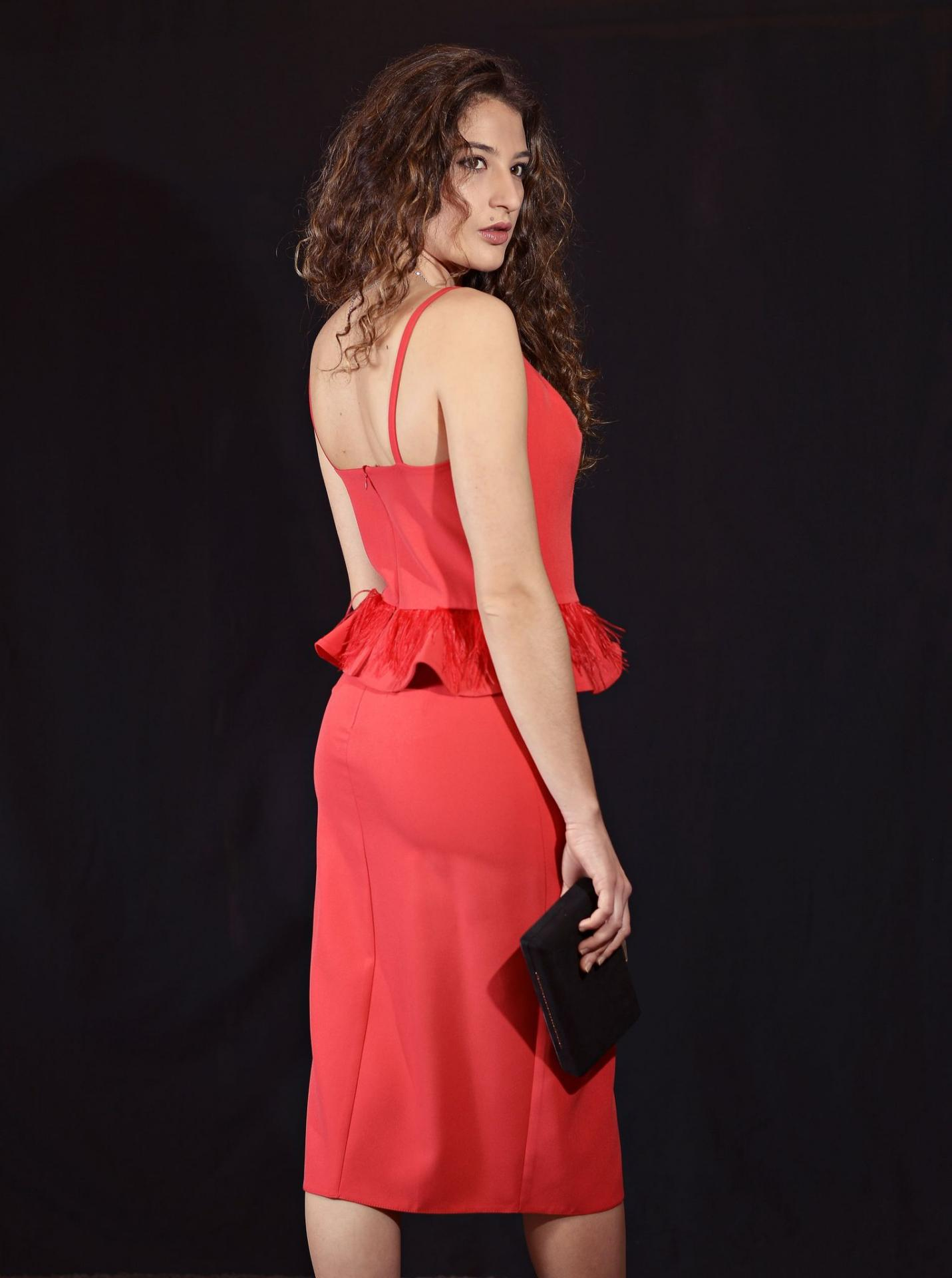 Vestido de fiesta corto. Modelo Eline