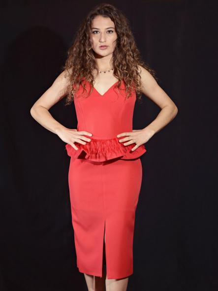 Vestido de fiesta corto. Modelo Eline [1]