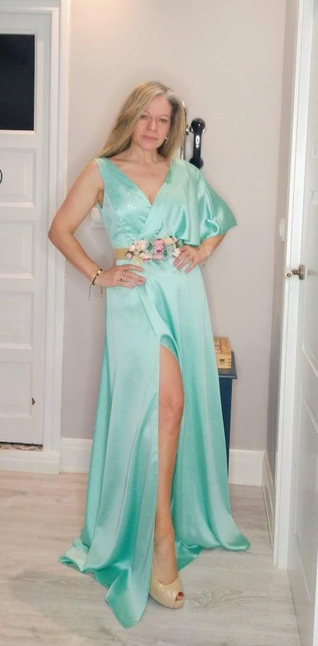 Vestido de fiesta largo. Modelo Jess.
