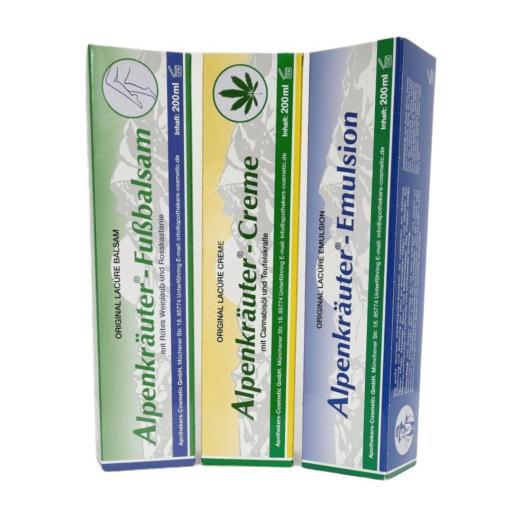 Alpenkrauter Lacúre - Pack 3 x 200ml [1]