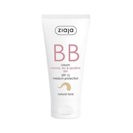 BB Cream Piel Normal SPF15 Tono Natural