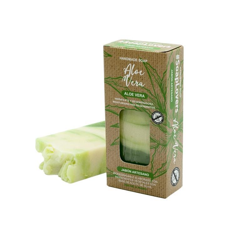 Jabón en Pastilla Aloe Vera