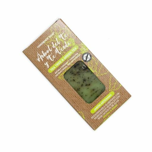Jabón en Pastilla Árbol de Té Verde [1]