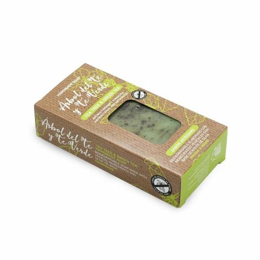 Jabón en Pastilla Árbol de Té Verde [2]