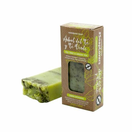 Jabón en Pastilla Árbol de Té Verde