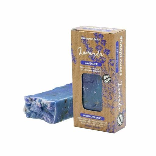 Jabón en Pastilla Lavanda [0]