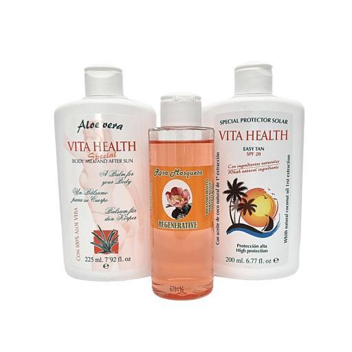 Set Body Milk + Protector Solar + Aceite Rosa Mosqueta [1]