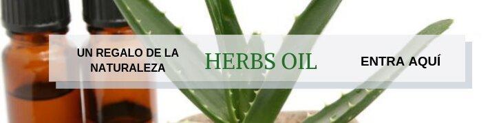 Aceite de hierbas con manzanilla