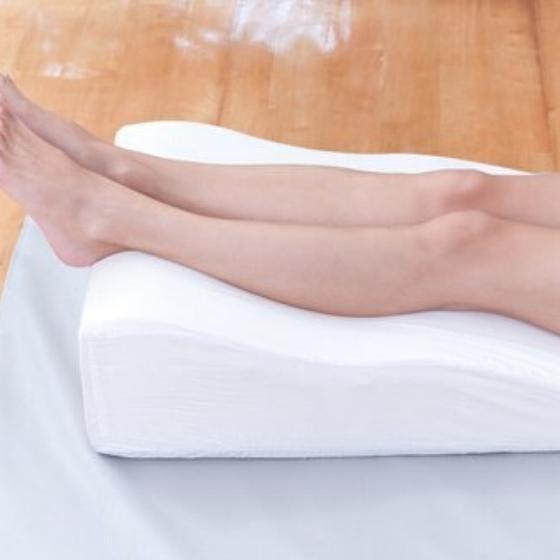 piernas elevadas