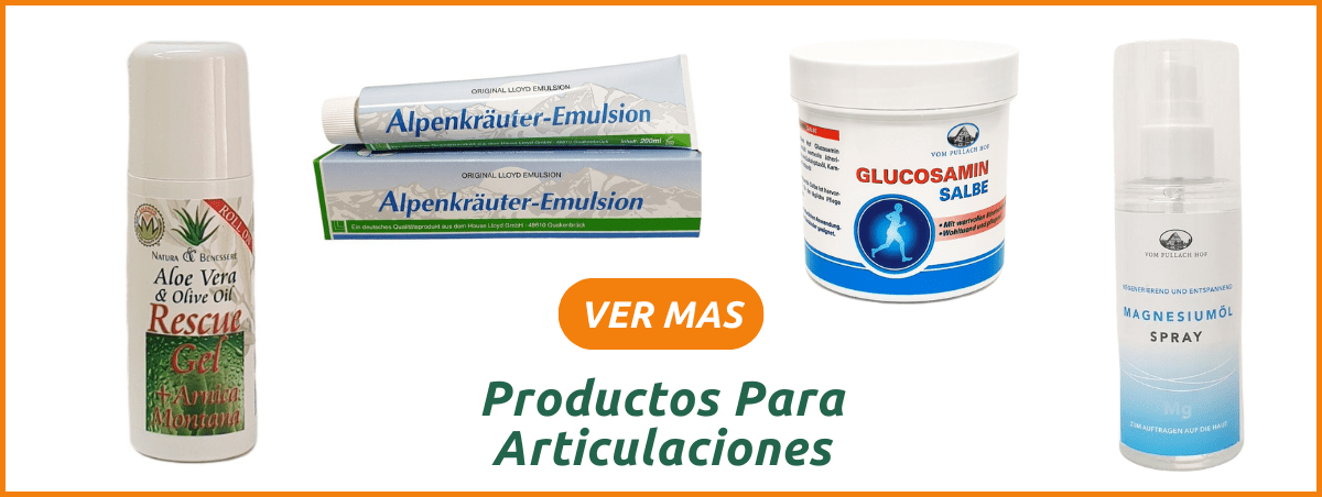 Productos naturales para el dolor