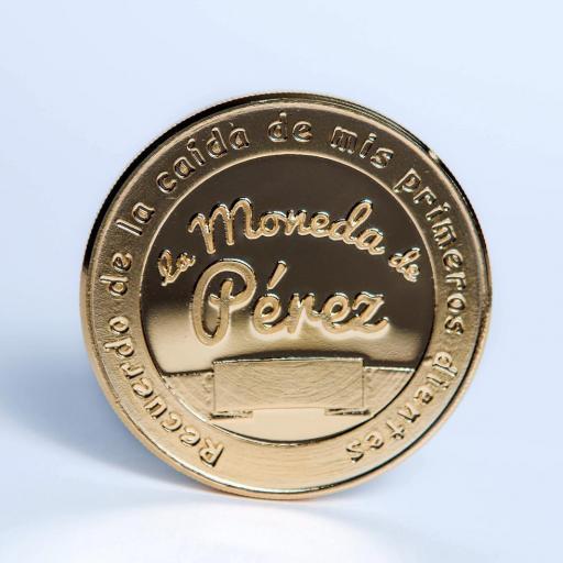 Pack La Moneda del Ratoncito Pérez chapada en oro + La Puerta de Ratoncito Pérez [1]