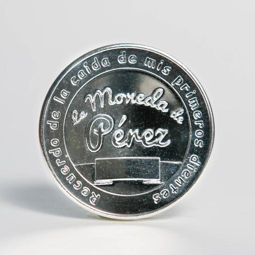 Pack La Moneda del Ratoncito Pérez chapada en plata + La Puerta del Ratoncito Pérez [1]