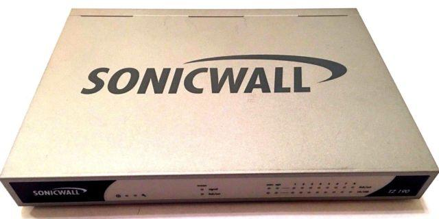 SONICWALL TZ190 FIREWALL NETWORK SECURITY ROUTER
