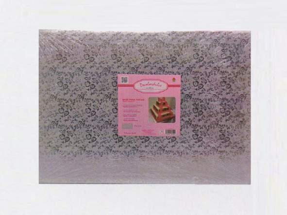 Base tarta rectangular 30 x 40 x 1cm
