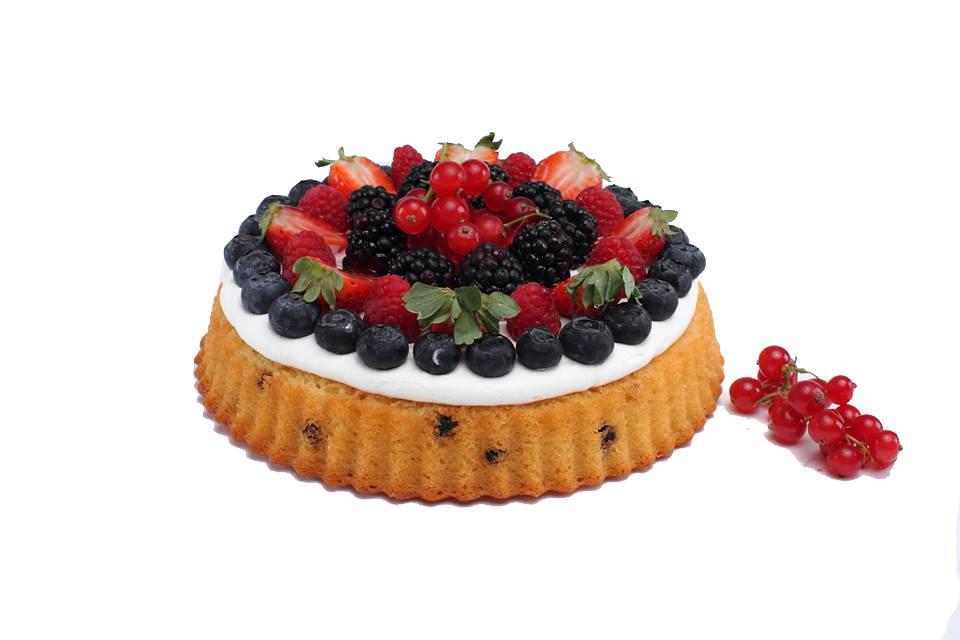 Credi Soft cake Yogur y Frutos rojos