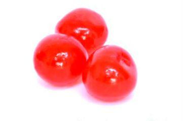 Cereza roja entera