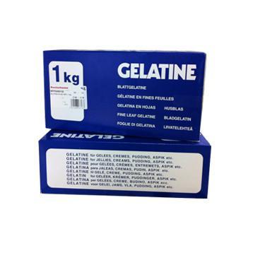 Gelatina en Láminas