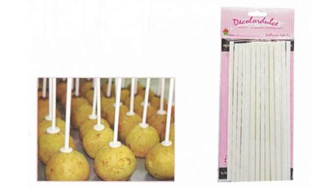 Popsticks  de 15cm 20 unidades