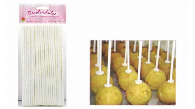 Popsticks 10cm  50 unidades
