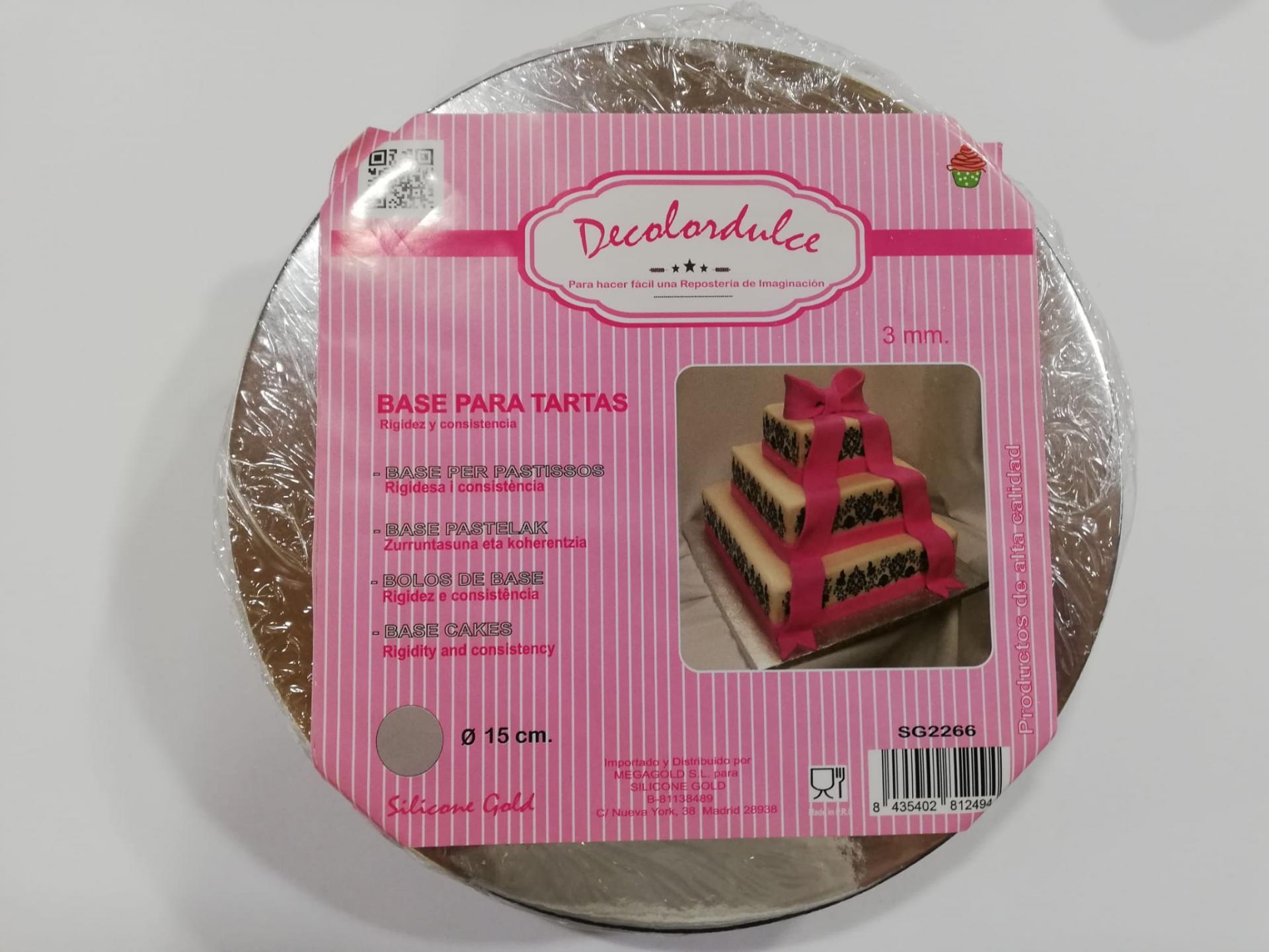 Base tarta 15 x 3mm