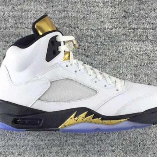 Air Jordan 5 Gold Medal
