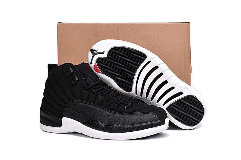 "Air Jordan 12 ""Black Nylon"""