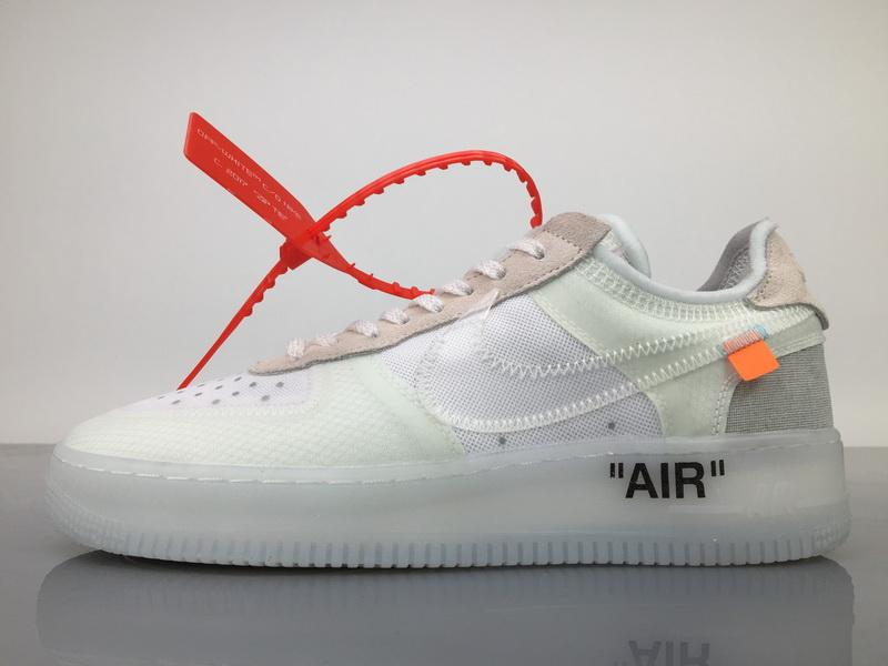 """THE 10 : NIKE AIR FORCE 1 LOW """"OFF WHITE"""""""