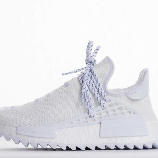 "Pharrell x adidas Hu NMD Trail ""Blank Canvas"""