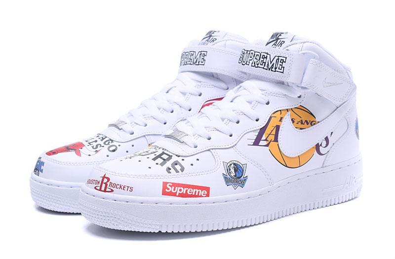 Supreme x NBA x Nike Air Force 1