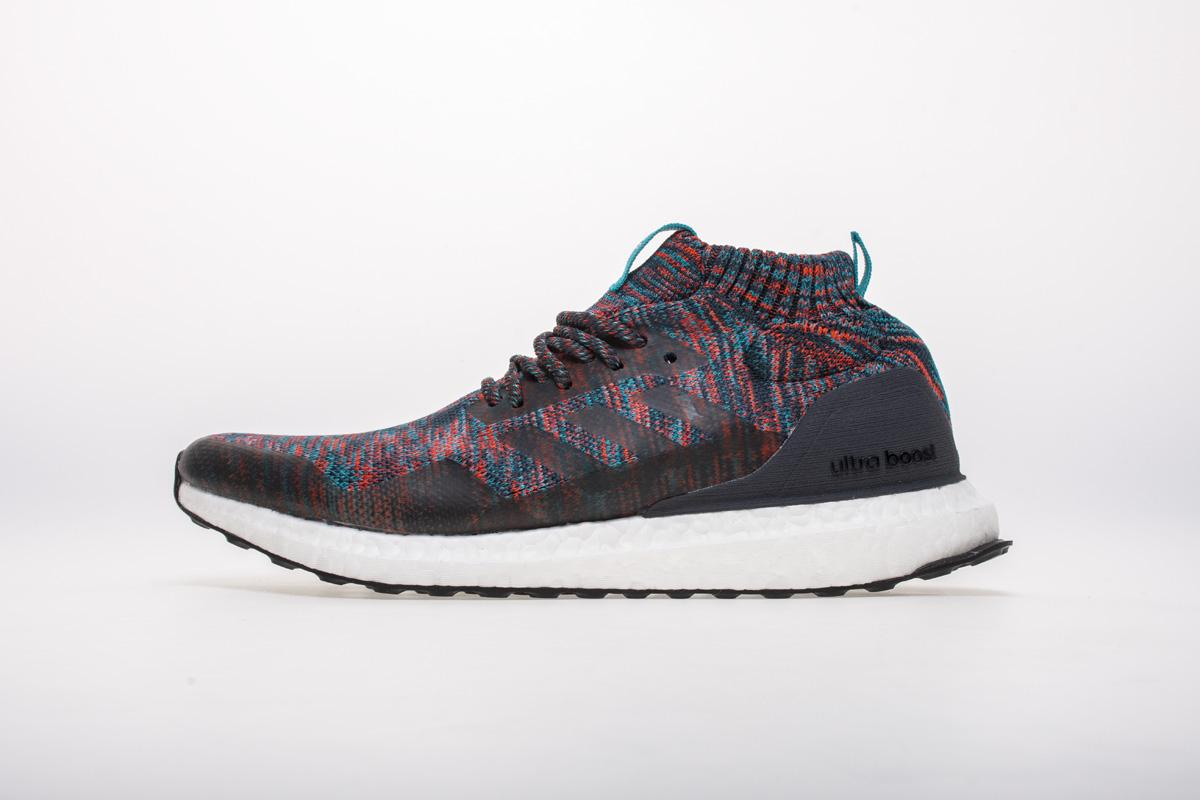 ADIDAS ULTRA BOOST MID TO FEATURE BURGUNDY AND TURQUOISE PRIMEKNIT