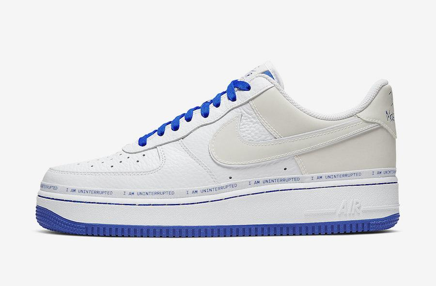 UNINTERRUPTED X NIKE AIR FORCE 1 LOW QS