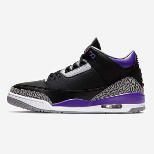 AIR JORDAN 3 RETRO - COURT PURPLE