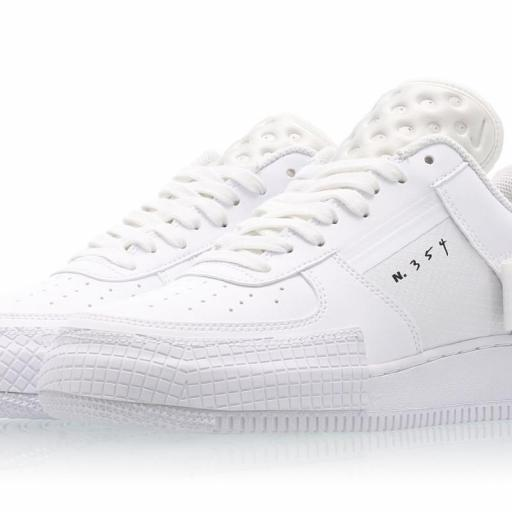 NIKE AIR FORCE 1 TYPE WHITE [1]