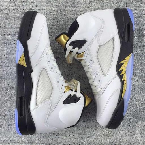 Air Jordan 5 Gold Medal [2]
