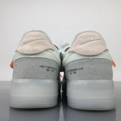 """THE 10 : NIKE AIR FORCE 1 LOW """"OFF WHITE"""" [2]"""