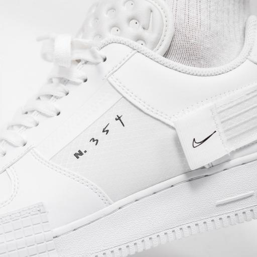NIKE AIR FORCE 1 TYPE WHITE [2]
