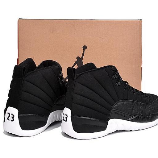 "Air Jordan 12 ""Black Nylon"" [3]"