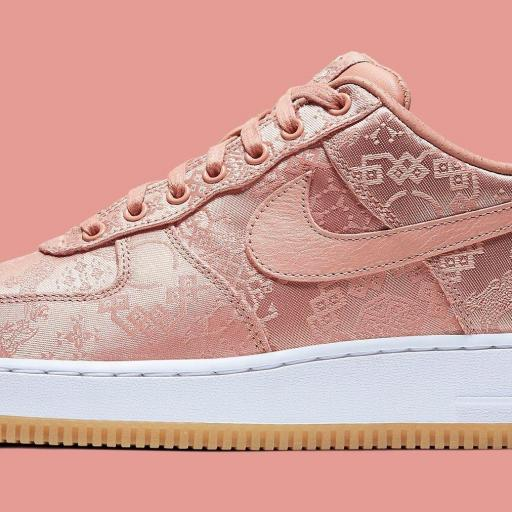 "CLOT X NIKE AIR FORCE 1 LOW ""ROSE GOLD"""