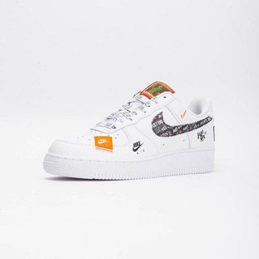 NIKE AIR FORCE 1 '07 PRM JUST DO IT [1]