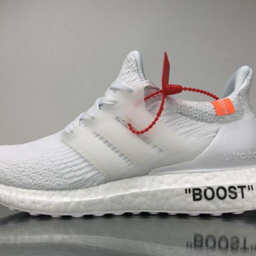 "OFF WHITE X ADIDAS ULTRA BOOST "" TRIPLE WHITE """