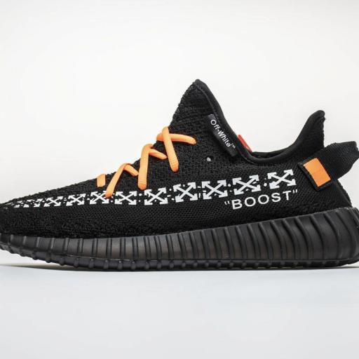 "OFF WHITE X YEEZY BOOST 350 V2 ""BLACK"""