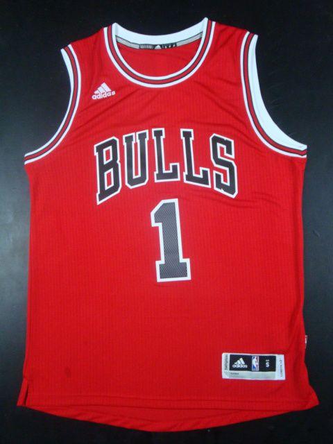 Camiseta Chicago Bulls 1 Rose