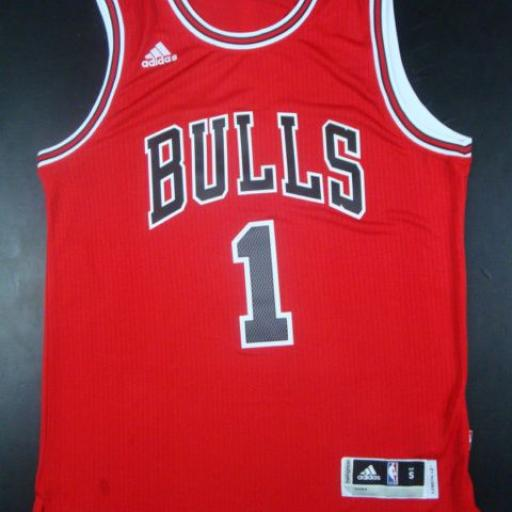 Camiseta Chicago Bulls 1 Rose
