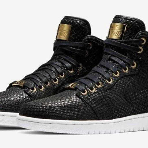Air Jordan 1 Pinnacle black [1]